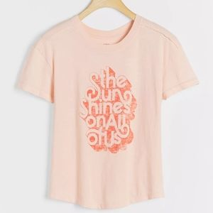 Anthropologie Tops - 🆕Anthropologie   Kenny Coil Sun Shine T Shirt XS